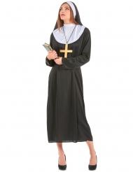 Nonne kostume stor størrelse kvinde