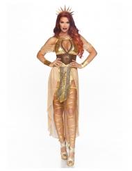 Luksus solgudinde kostume kvinde