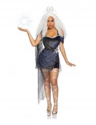 Luksus måne dronning kostume kvinde