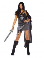 Sexy kriger luksus kostume til kvinder