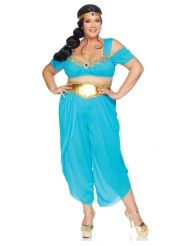 Luksus ørken prinsesse kostume i stor størrelse - kvinde
