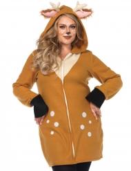 Luksus dådyr kostume stor størrelse kvinder