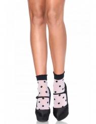 Sokker med prikker - kvinde