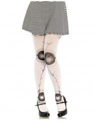 Strømpebukser dukke hvid kvinde