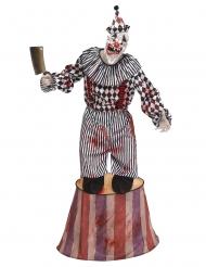 Skræmmende klovnekostume cirkus