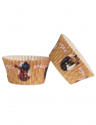 25 Cupcake forme Ladybug™ 5 x 3 cm