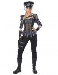 Steampunk kaptajn kostume kvinde