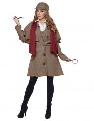 Detektiv kostume kvinde