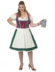 Bayersk kostume stor størrelse - kvinde