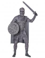 Forstenet kriger kostume - voksen