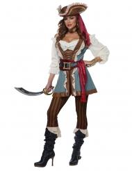 Komplet piratkostume kvinde