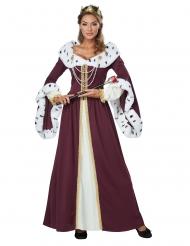 Eventyrsdronning kostume kvinde