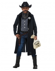 Sherif kostume barn