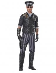 Steampunk kaptajn kostume - mand