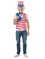 Patriotisk amerikaner kostume Mand