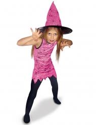 Hekse Kostume Pink Edderkop til piger