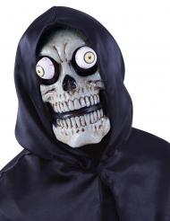 Skeletmaske med store øjne til voksne