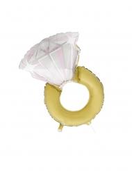 Ballon aluminium forlovelsesring 81 cm
