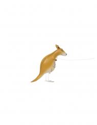 Aluminium ballon kænguru der går 101 cm