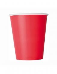 8 Papkrus røde 266 ml
