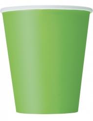 8 Papkrus i citron grøn 266 ml