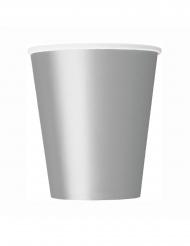 6 papkrus i sølv 266 ml