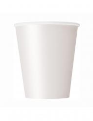 8 Papkrus hvid 266 ml