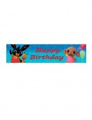 Happy Birthday banner Bing™ 270 x 20 cm