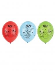 6 Latex balloner Bing™ 27 cm