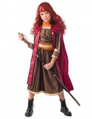 Vinter prinsesse kostume rød pige