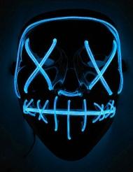 LED maske blåt lys til voksne