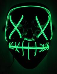 LED maske grønt lys til voksne
