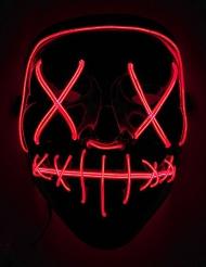 LED maske rødt lys til voksne