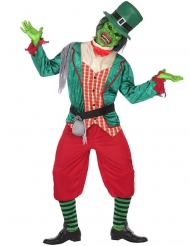 Leprechaun Zombie kostume til mænd
