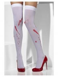 Strømpebukser med blodpletter til kvinder