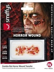 Zombie hud påføres med vand
