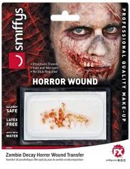 Falskt kæbesår påføres med vand zombie
