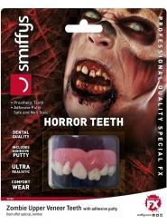 Zombie Tandprotese Luksus til voksne