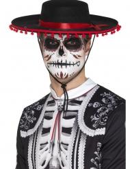 Sombrero Hat Dia de Los Muertos