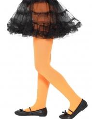 Orange strømpebukser til børn