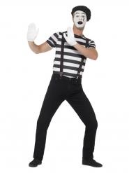 Mimer kostume med sminke til mænd
