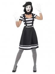 Mimer kostume med sminke til kvinder