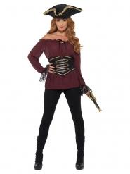 Luksus pirat skjorte til kvinder