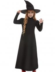 Hekse Kostume sort til piger