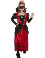 Vampyr Kostume med Maske til piger