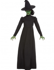 Hekse kostume standard sort til kvinder