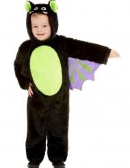 Flagermus kostume med plys til børn