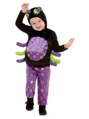 Edderkop kostume med plys til børn