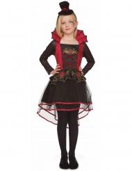 vampyr kostume rød til piger