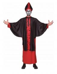 Biskop skelet kostume til voksne